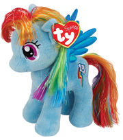 Ty Beanies My Little Rainbow Dash Blue, , hi-res