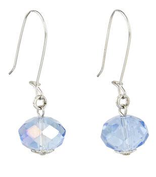 A-wire Drop Earring Blue
