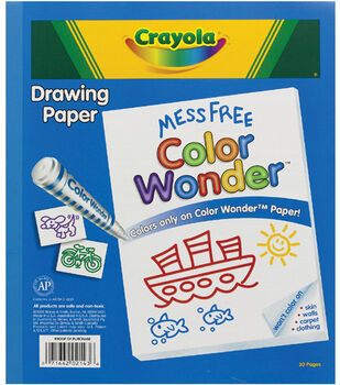 Crayola Color Wonder Paper Pad Refill