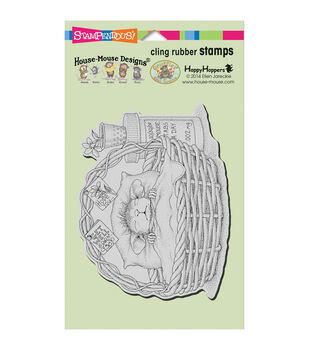 Stampendous® House Mouse Cling Stamp-Quick Recovery