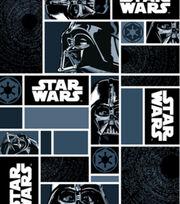 Star Wars Darth Vader In Blocks Fleece Fabric, , hi-res