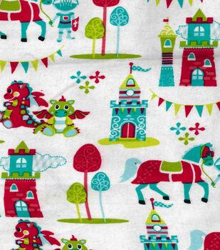 Snuggle Flannel Fabric-Magic Kingdom
