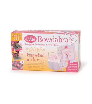 Darice Mini Bowdabra Bow Maker W/ Favor Maker & Craft Tool