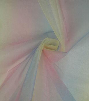 Glitterbug Fabric-Ombre Organza