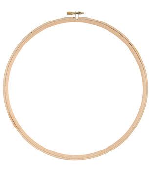 """Wood Hoop 10""""-"""