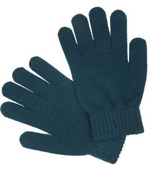 Laliberi Winter Knit Heavyweight Gloves In Teal