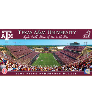 Texas A&M University NCAA Master Pieces Panoramic Puzzle