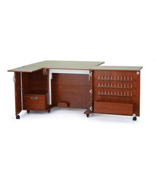 Kangaroo Kabinet Wallaby II Sewing Cabinet-Teak