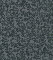 Keepsake Calico™ Cotton Fabric-Swirling Vines Black, , hi-res
