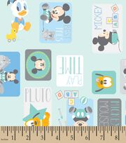 Disney® Playtime Mickey Patch Print Fabric, , hi-res
