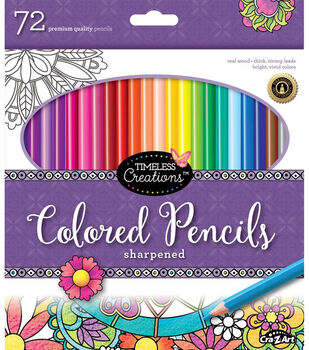 Timeless Creations 72ct Colored Pencils