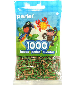 Perler Beads 1,000 Count-Camo Stripe