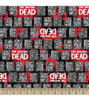 The Walking Dead Biters Flannel Fabric, , hi-res