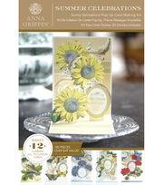 Anna Griffin Sunny Salutations Pop Up Cardmaking Kit, , hi-res