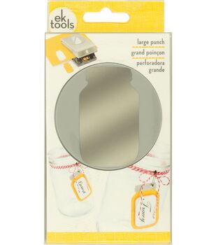 EK Success Large Punch-Glass Jar