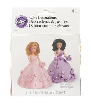 Wilton® Mini Doll Picks 4/st