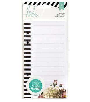 Heidi Swapp Memory Planner List Pad 24/Pkg-Floral