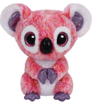 TY Beanie Boo Kacey Pink Koala