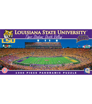 Louisiana State University NCAA Master Pieces  Panoramic Puzzle