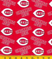 Cincinnati Reds MLB Cotton Fabric, , hi-res