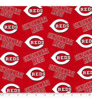 Cincinnati Reds MLB Cotton Fabric