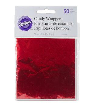 Wilton® 4''x4'' Foil Wrappers