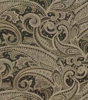 Richloom Studio Upholstery Fabric Lavatera Gunmetal