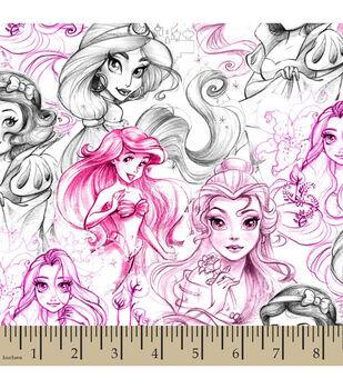 Disney® Princess Sketch Cotton Fabric