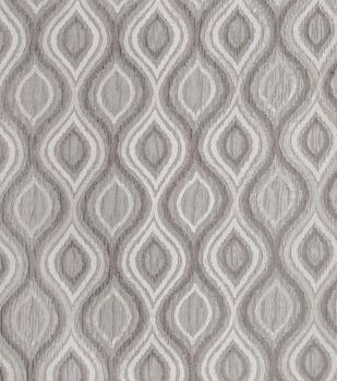 Eaton Square Print Fabric-Lanford/Charcoal