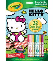 Crayola® Hello Kitty Coloring&Activity Pad, , hi-res