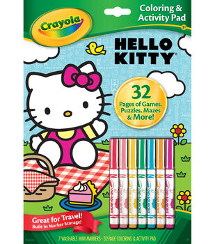 Crayola® Hello Kitty Coloring&Activity Pad
