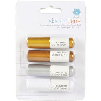Silhouette America Inc Metallic Sketch Pens