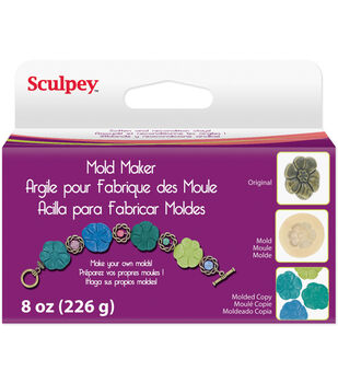 Sculpey Mold Maker 8 Ounces/Pk-Cream