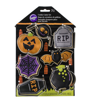 Wilton® 7pcs Cookie Cutter Set-Haunted House
