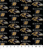 Baltimore Ravens NFL Cotton Fabric by Fabric Traditions, , hi-res