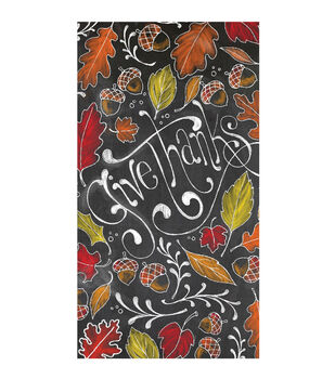Art of Autumn 16 Count Paper Napkins-Give Thanks
