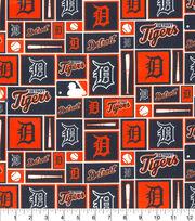 Detroit Tigers MLB Patch Cotton Fabric, , hi-res