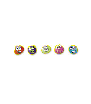 Busy Kids Learning Small Sticker Packs-Funny Face Brites