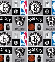 Brooklyn Nets NBA  Cotton Fabric, , hi-res