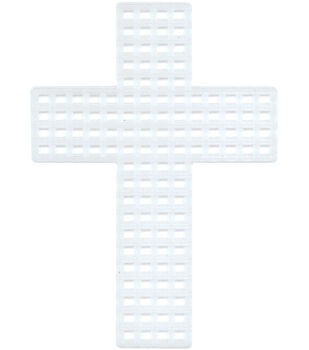 Darice Plastic Canvas 7 Count Crosses
