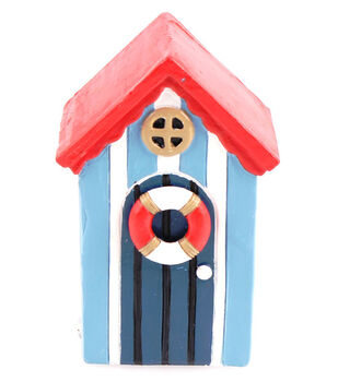 Fairy Garden Beach House With Red Roof