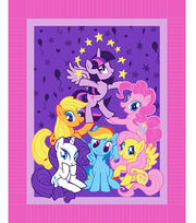 "My Little Pony Pyramid 48"" No Sew Fleece Throw, , hi-res"
