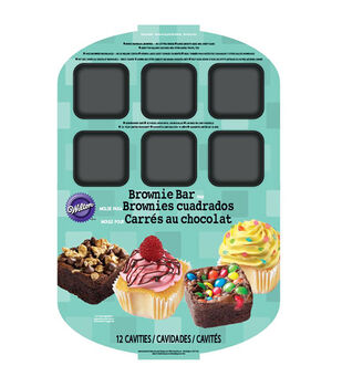 Wilton® Brownie Bar Pan-12 Cavity