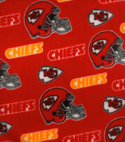 Kansas City Chiefs NFL Fleece Fabric by Fabric Traditions, , hi-res