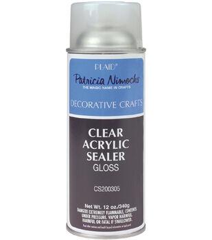 Plaid Clear Acrylic Sealer-Gloss/Matte 12 oz