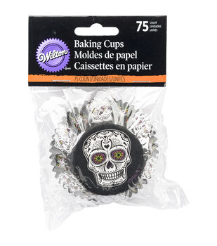 Wilton® Standard Baking Cups-Deadly Soiree 75/Pkg