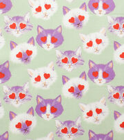 Alexander Henry Cotton Fabric-Lovestruck Mint, , hi-res