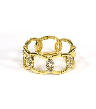 Blue Moon Jewelry Golden Links Bracelet