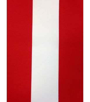 Outdoor Fabric-Baja Stripe Red