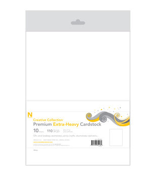 Neenah Paper Heavyweight 110lb Cover Cardstock 8.5''x11''